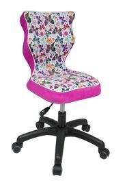 Детский стул Entelo ST31 Butterfly Pink/Black