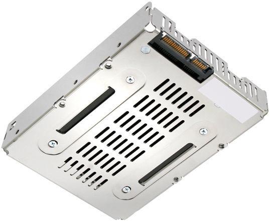 "Icy Dock EZConvert Air Lite MB482SP-3B 2.5"" to 3.5"" SAS / SATA Converter"