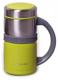 Kamille Vacuum Flask 500ml Green KM2018