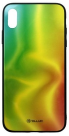 Tellur Glass Print Back Case For Apple iPhone XS Max Silk