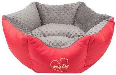 Amiplay Babydoll Crown Bed L 68x23cm Gray