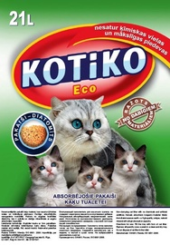 Kačių kraikas Kotiko Eco, 21 l