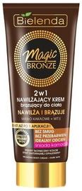 Savaiminio įdegio kremas Bielenda Magic Bronze Moisturizing Bronzing 2in1 Dark Skin, 200 ml