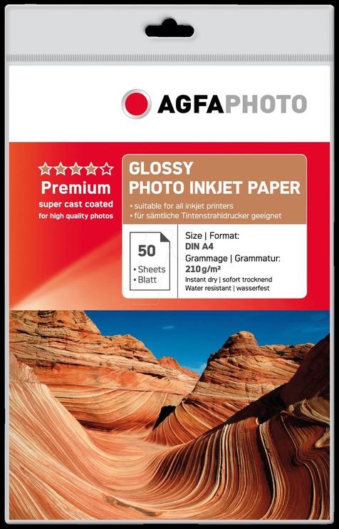 Fotopaber AgfaPhoto Premium Glossy Photo Paper A4 50pcs
