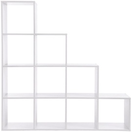 Plaukts Songmics White, 129.5x29x129.5 cm