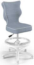 Entelo Petit Black HC+F Size 3 Children Chair JS06 White/Blue