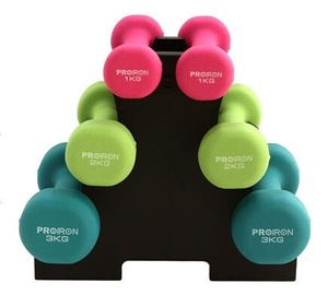 ProIron Neoprene Dumbbell Set 6pcs 12kg