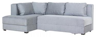 Bodzio Corner Sofa Judyta Left Velor Gray