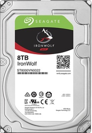 Seagate IronWolf HDD NAS 8TB 7200RPM SATAIII 256MB ST8000VN0022