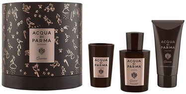 Acqua di Parma Colonia Quercia 100ml EDC + 75ml Shower Gel + Candle