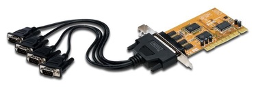 Digitus 4-Port Serial Interface Card PCI