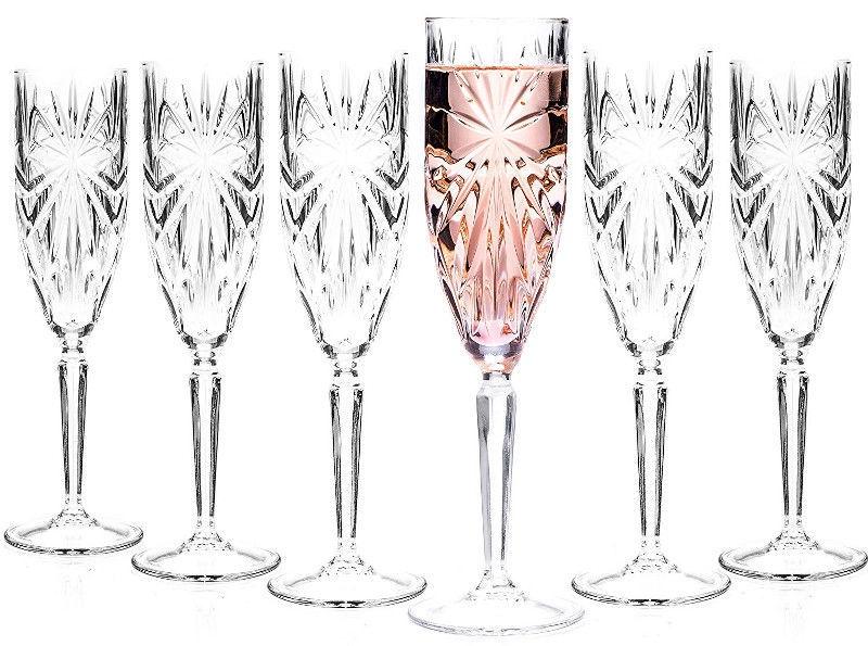 Šampanja klaas RCR Oasis, 0.16 l, 6 tk