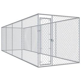 Koerapuur VLX Outdoor Dog Kennel, 7600x1920x1850 mm