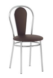 Valgomojo kėdė Florino V3, tamsiai ruda