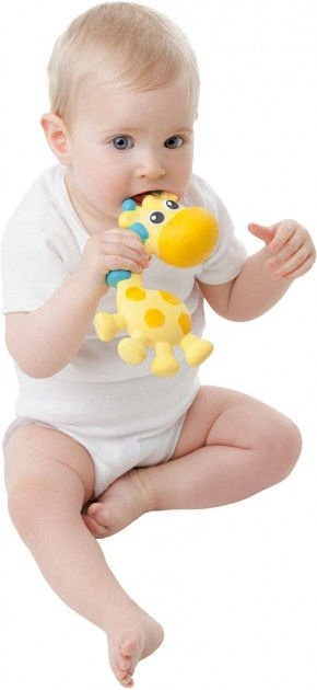 Playgro Squeak And Soothe Natural Teether 0186970