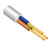 Elektros instaliacijos kabelis Lietkabelis H03VV-F, 3 x 0,5 mm²