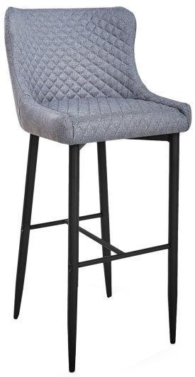 Барный стул Signal Meble Colin H-1 Grey/Black, 1 шт.