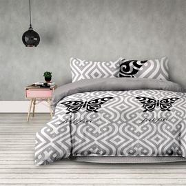 Gultas veļas komplekts AmeliaHome Basic Feel Free, daudzkrāsains, 230x220/50x75 cm