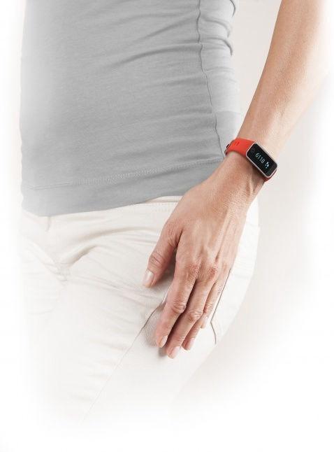 Išmanioji apyrankė Medisana ViFit Touch Activity Tracker, raudona