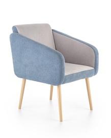 Fotelis Halmar Well Blue/Grey, 70x62x88 cm