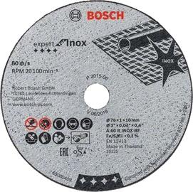 Lõikeketas Bosch Inox  D76x10x1mm, 5tk