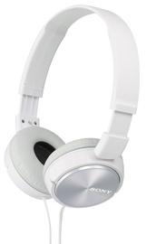 Ausinės Sony MDR-ZX310 White