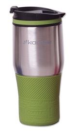 Kamille Vacuum Mug 380ml Green KM2064