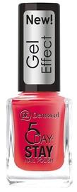 Dermacol 5 Day Stay Longlasting Nail Polish, 12 ml, 28