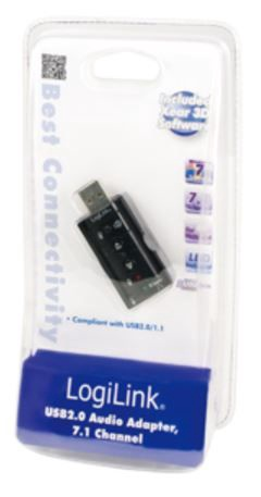 LogiLink Adapter USB to 3.5mm