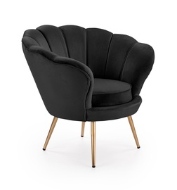 Стул для столовой Halmar Amarino Black/Gold, 1 шт.