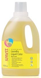 Šķidrs mazgāšanas līdzeklis Sonett Color Mint & Lemon, 1.5 l