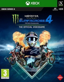 Monster Energy Supercross 4: The Official Videogame Xbox Series X