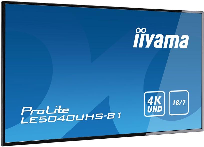 "Monitorius Iiyama ProLite LE5040UHS-B1, 50"", 8 ms"