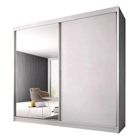 Idzczak Meble Pro Polysk Wardrobe 233cm White/White Gloss