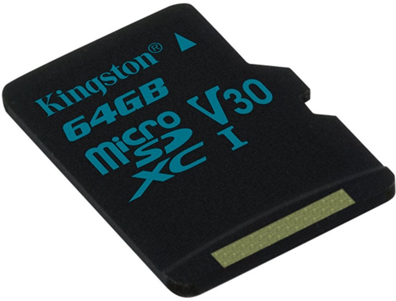 Kingston Canvas Go! MicroSD 64GB