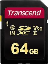 Transcend 700S 64GB CL10 UHS-II U3 TS64GSDC700S