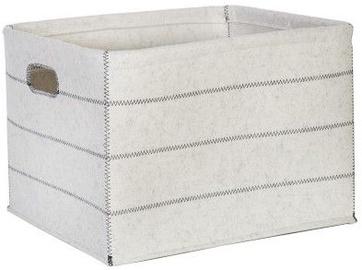 Home4you Basket Max Felt 2 43x33xH27cm White