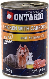 Ontario Chicken With Carrots 400g