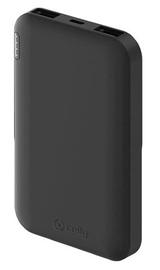 Зарядное устройство - аккумулятор Celly PBE5000BK, 5000 мАч, черный