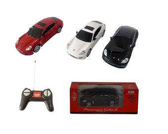 Žaislinė mašina Porsche, raudona, balta, juoda