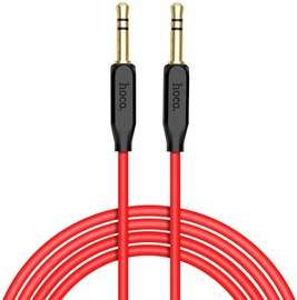 Hoco UPA11 Premium Aux Jack 3.5mm To 3.5mm Stereo Audio 1m Cable Black