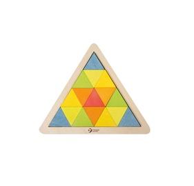 Koka puzzle trijstūris 3729