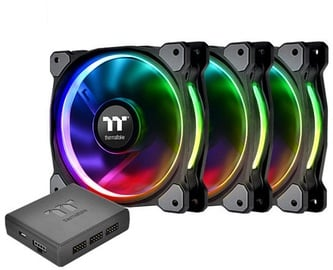 Thermaltake Riing Plus 14 RGB Radiator Fan TT Premium Edition 3-Pack CL-F056-PL14SW-A