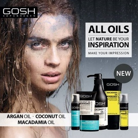 Aliejus plaukams Gosh Argan Oil Morrocan, 50 ml
