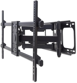 Televizoriaus laikiklis Manhattan Wall Mount for TV 37-90'' Black