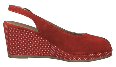 Tamaris Pagiolo Healed Sandals 1-1-29303-22 Lipstick Dots 37