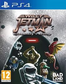 Willy Jetman: Astromonkey's Revenge PS4