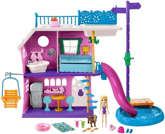 Leļļu māja Mattel Polly Pocket Lil Lake House Playset GHY65