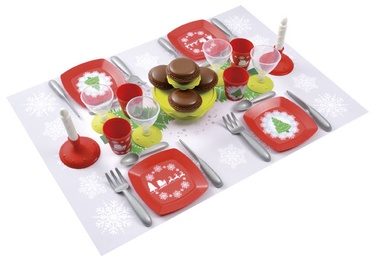 Ecoiffier Christmas Dinner Set 8/2622S
