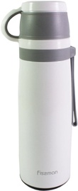 Fissman Thermos 0.6L Steel White/Gray 9740
